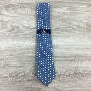 Stafford Star Print Extra Long Tie
